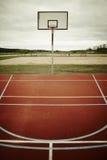 篮球操场 免版税库存图片