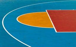 篮球操场 免版税库存照片