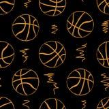 篮球无缝的等高  库存照片