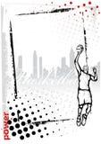 篮球框架 免版税库存照片