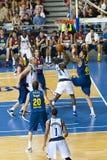 篮球比赛巴塞罗那-达拉斯 免版税库存图片