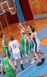 篮球比赛 图库摄影