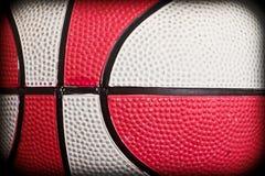 篮球特写镜头 免版税图库摄影