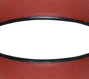 篮球特写镜头copyspace 免版税库存图片