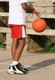 篮球男孩 库存图片