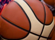 篮球的纹理 库存图片
