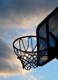 篮球目标 免版税库存图片