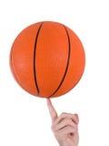 篮球窍门 库存图片