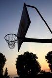 篮球立场 库存照片