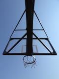 篮球篮子网 库存照片