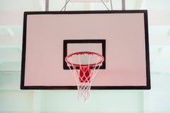 篮球篮子 免版税图库摄影