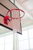 篮球篮子 免版税库存图片