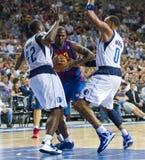 篮球行动 库存图片