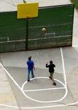 篮球街道 免版税库存照片