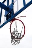 篮球被中断的环形 库存图片