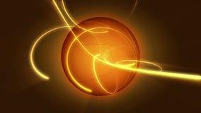 篮球被做成抽象行动背景 股票录像