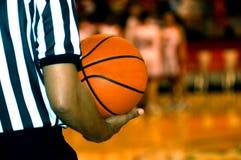 篮球计时 免版税库存图片