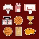 篮球设计 免版税库存照片