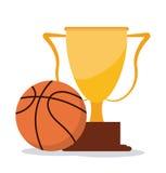 篮球象设计 库存图片
