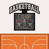 篮球象设计 免版税库存照片