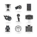 篮球象设计 图库摄影