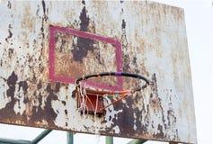 篮球铁板 免版税库存图片