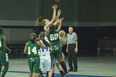 篮球高中大学运动代表队 免版税图库摄影