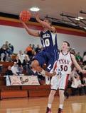 篮球高费城学校 免版税图库摄影