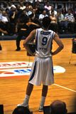 篮球casspi nba omri球员 免版税图库摄影