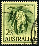 篱笆条澳大利亚邮票 免版税库存图片