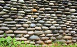 篱芭由石头做成 免版税库存照片