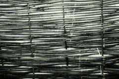 篱芭的纹理从藤的 免版税图库摄影