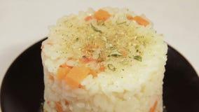 米亚洲食物用红萝卜 影视素材