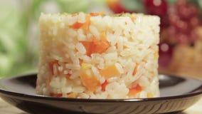 米亚洲食物用红萝卜 股票视频
