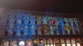 米兰中央宫殿 免版税库存图片