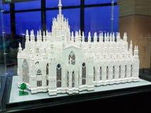米兰中央寺院米兰大教堂 库存照片