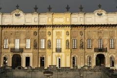 米兰伦巴第,意大利:别墅Arconati 库存照片