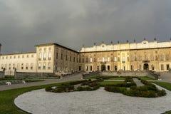 米兰伦巴第,意大利:别墅Arconati 图库摄影