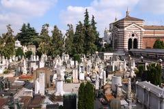 米兰公墓 库存图片
