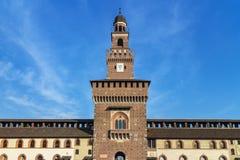米兰城堡 免版税图库摄影