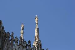 米兰大教堂中央寺院,圆顶, 库存照片
