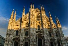 米兰大教堂,米兰,意大利 免版税库存照片