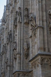 米兰大教堂13 免版税库存照片
