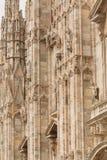 米兰大教堂 库存图片