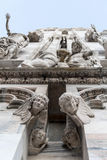 米兰大教堂 免版税库存图片
