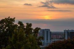 米兰山风景 免版税图库摄影