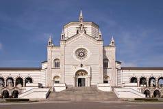 米兰巨大的公墓 库存图片