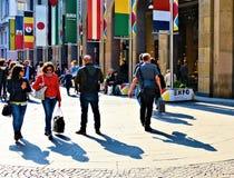 米兰广场中央寺院 免版税库存图片