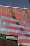 米兰意大利:在Portello的现代大厦 免版税库存图片