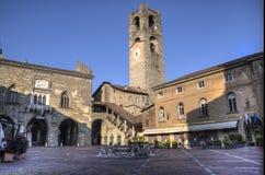 米兰老公平的陈列在米兰,意大利, Portello地区 库存图片